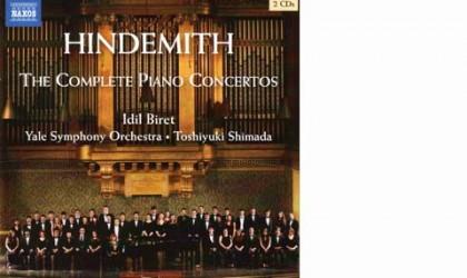 Paul Hindemith: Die Klavierkonzerte