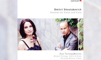Mirjam Tschopp, Riccardo Bovino und Schostakowitsch