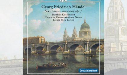 Deutsche Kammerakademie Neuss: Abschluss der Händel-Serie mit Matthias Kirschnereit