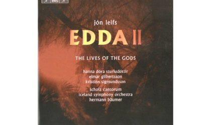 Grandioser Jón Leifs:  Der Edda zweiter Teil
