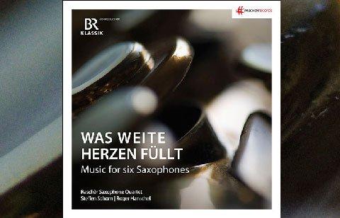 Raschèr Saxophone Quartet feat. Steffen Schorn & Roger Hanschel