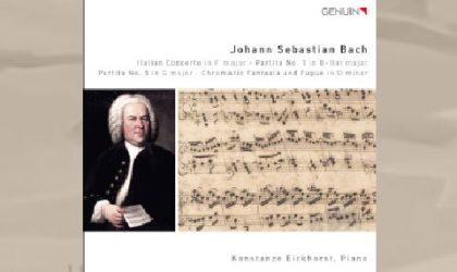 Konstanze Eickhorst spielt Johann Sebastian Bach