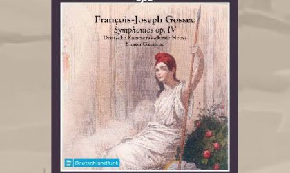 François Joseph Gossec (1734–1829): Symphonien op. IV, 1–6