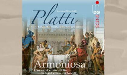 Armoniosa spielt Giovanni Platti